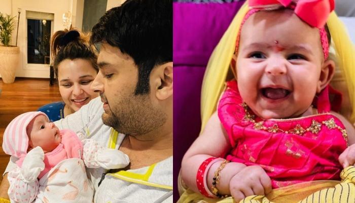 कपिल शर्मा की 6 महीने की बेटी अनायरा दिखती हैं मम्मी गिन्नी चतरथ की कार्बन कॉपी, देखें फोटो