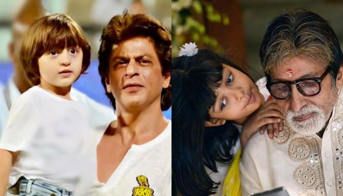 अमिताभ बच्चन और शाहरुख खान को है बड़े पर्दे पर अबराम-आराध्या की जोड़ी देखने का इंतजार