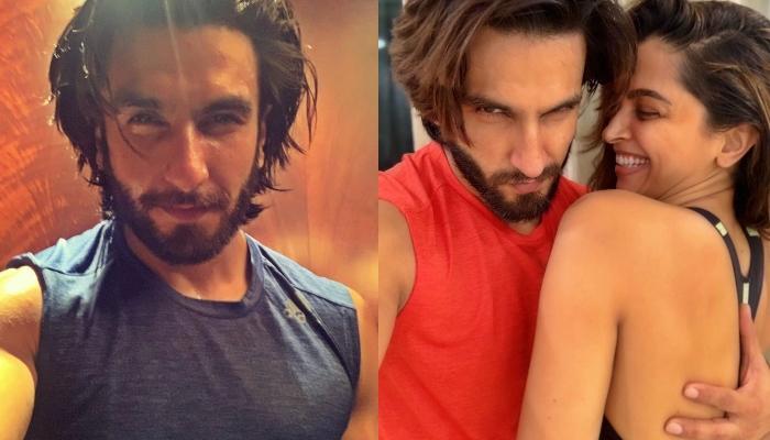 दीपिका पादुकोण ने पति रणवीर सिंह के बालों को दिया नया लुक, एक्टर ने फोटो शेयर कर लिखी ये बात