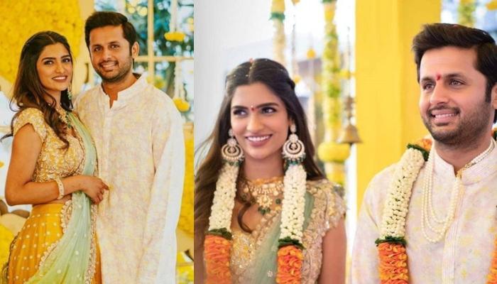 साउथ एक्टर नितिन ने गर्लफ्रेंड शालिनी संग की सगाई, अब इस दिन होगी शादी!