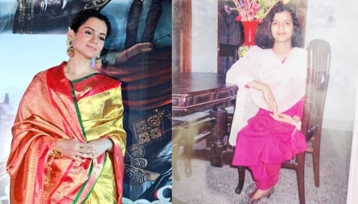 रामायण के लिए माता सीता बनीं थी कंगना रनौत, बहन रंगोली चंदेल ने शेयर की बचपन की फोटो