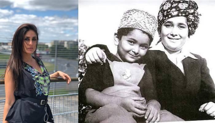 करीना कपूर ने शेयर की 'चिंटू' अंकल की ये तस्वीर, साथ में हैं 'बेबो' के पैरेंट्स