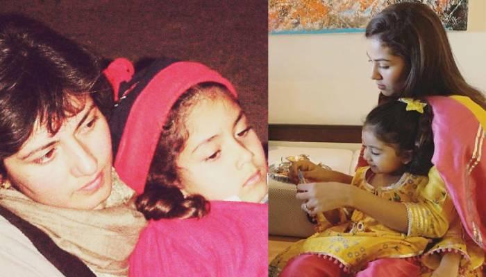 मीरा राजपूत ने शेयर की फैमिली के साथ बचपन की फोटोज, यहां देखें अनदेखी तस्वीरें