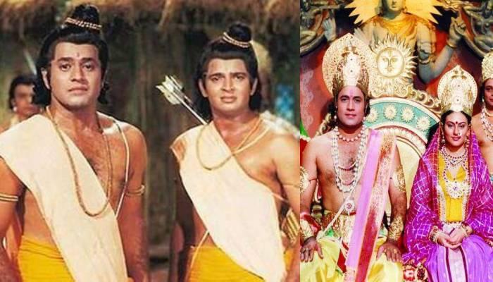 'रामायण' के 'श्री राम' परिवार के साथ बैठकर देख रहे अपना शो, सोशल मीडिया पर वायरल हो रही फोटो