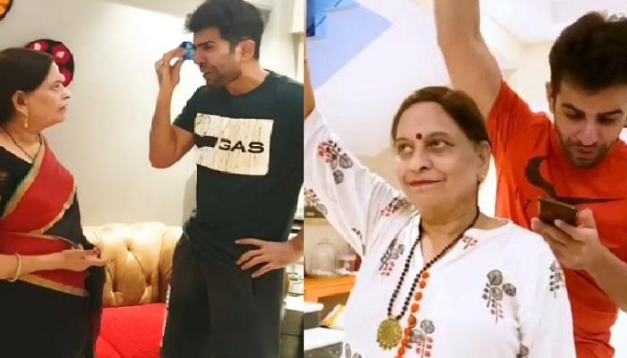 जय भानुशाली ने अपनी 'सासू मां' के साथ बनाया ये मस्ती भरा वीडियो, पत्नी माही विज नहीं रोक पाईं हंसी
