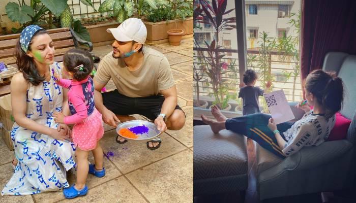 टेडी बियर्स के साथ पार्टी कर रही हैं सोहा अली खान की बेटी इनाया, मम्मी ने शेयर किया तस्वीर