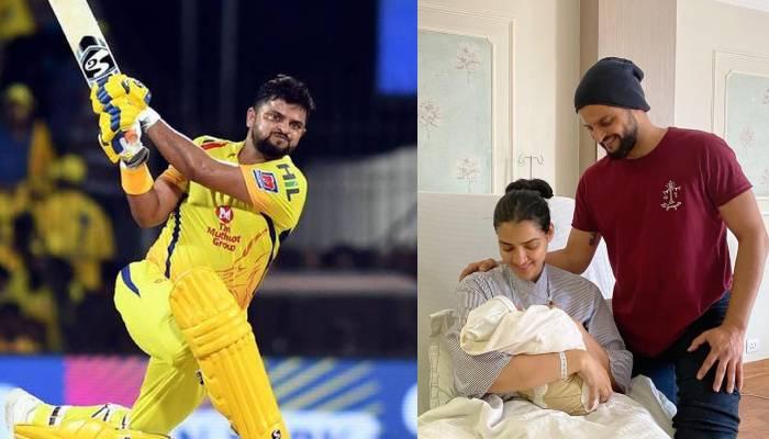 क्रिकेटर सुरेश रैना के घर आया नन्हा मेहमान, तस्वीर शेयर कर फैंस को बताया बेटे का नाम