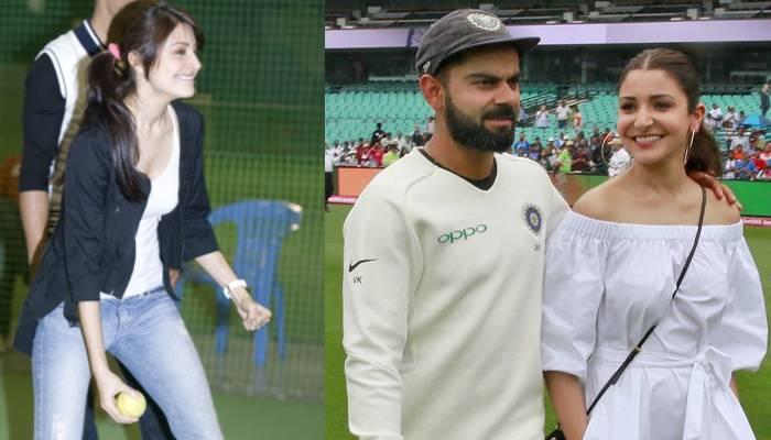जब विराट कोहली ने अनुष्का संग खेला मैच, वीडियो में देखें कैसे अपने पति के लिए बॉलर बनी एक्ट्रेस